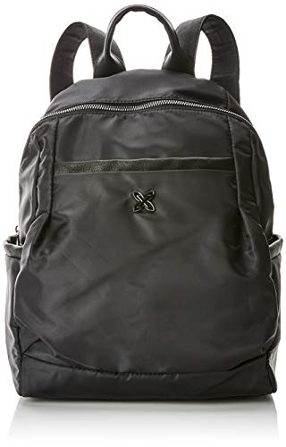 Munich Backpack Round Easy, Bolso mochila para Mujer, Negro (Black) 35x19x29 cm (W x H x L)