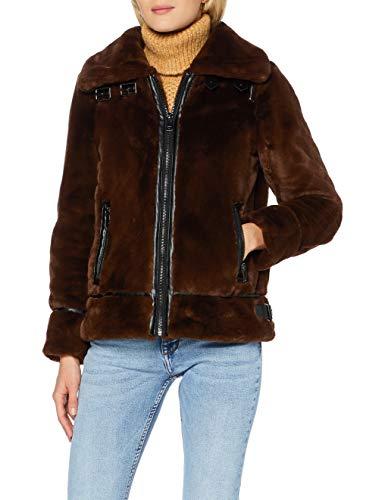 Oakwood Culture Chaqueta, marrón Oscuro, XS para Mujer