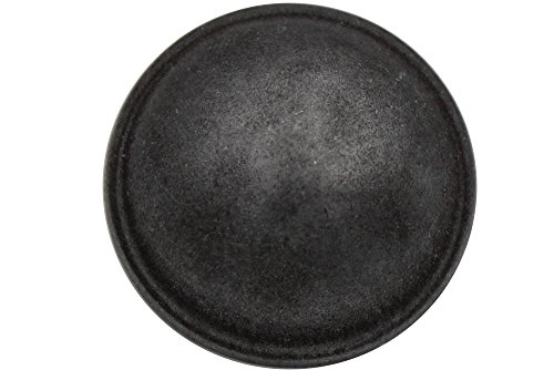 Silber grau dunkel gewölbte Metall Knöpfe Mantel Jacke Made in Germany (6 Stück) (20mm)