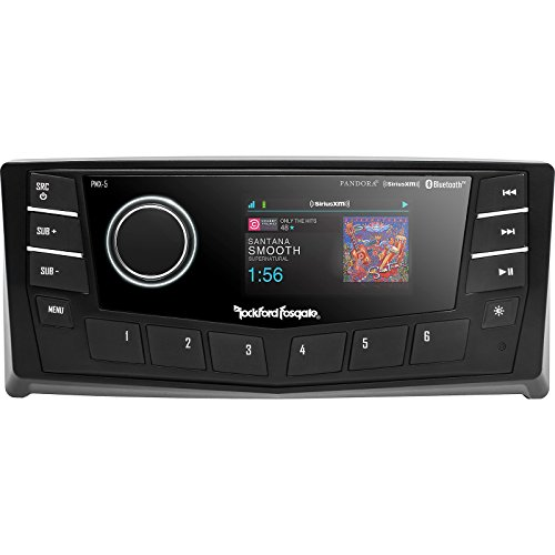 Rockford Fosgate Punch Marine  PMX-5 2.7in 50W AM/FM/WB Digital Media Receiver