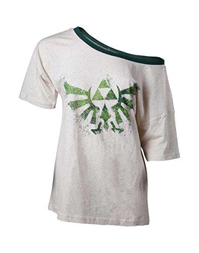 The Legend of Zelda T-Shirt Off Shoulder Ladies - Maat S