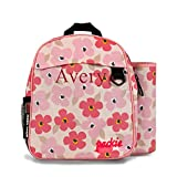 Urban Infant Personalized Toddler/Preschool Packie Backpack - Poppies