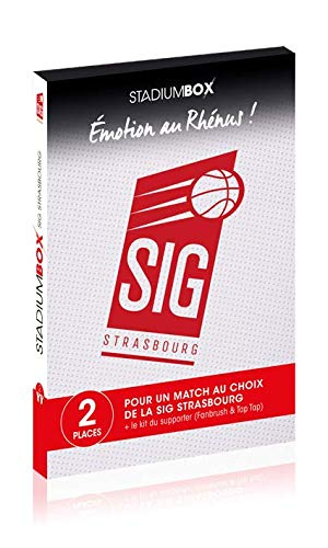 Tick&Box - Coffret Cadeau Places Match Basket SIG Strasbourg