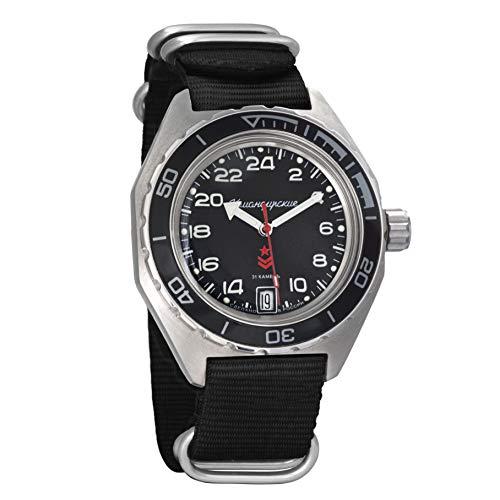 Vostok Komandirskie, reloj de pulsera militar ruso con dial
