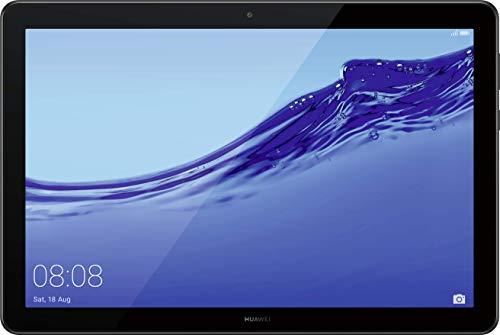 Huawei Mediapad T5 WiFi Tablet-PC (25,6 cm (10,1 Zoll) Full HD Display, 64 GB interner Speicher (erweiterbar), 4 GB RAM, 5100 mAh Akku) + 5EUR Gutschein, Schwarz