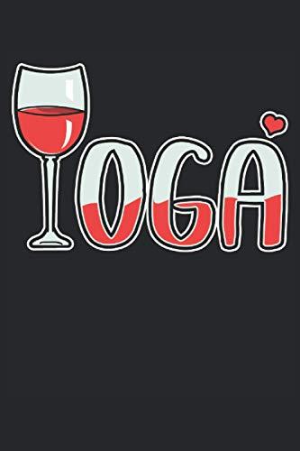 Notizbuch Yoga Rotwein: DIN A5 120 Seiten für Notizen Zeichnungen Formeln   Organizer Schreibheft Planer Tagebuch