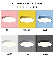 LED照明器具 Ledシーリングランプモダンな寝室通路通路デコ子供用ランプ子供天井備品、220ボルト (Body Color : Blue, Emitting Color : Cool Light)