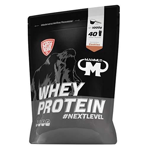 2 x Mammut Whey Protein, 1KG Beutel , Schoko (2er Pack)