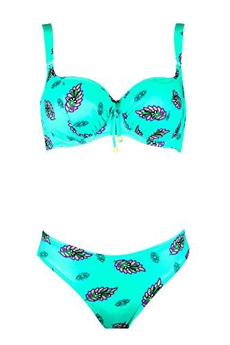 Lidea. Damen Bikini 7544-580-581 (40C)