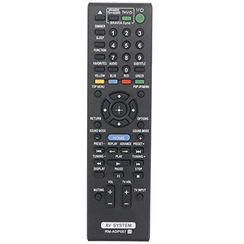 VINABTY RM-ADP057 RMADP057 Mando a Distancia de Repuesto para Sony AV System...