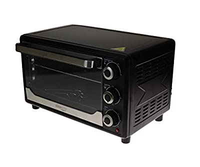 Cookmate Super Deluxe Toaster Oven - 6 Slice Capacity - Powerful 1500W - Stainless Steel Heating Element - Superior Quality - ETL Listed - By Unity