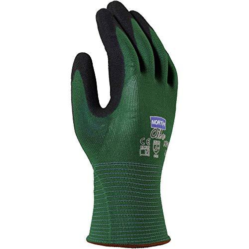 North Oil Grip NF35-10 Nylon Arbeitshandschuh Größe (Handschuhe): 10, XL EN 420, EN 388.3121 1 Paar
