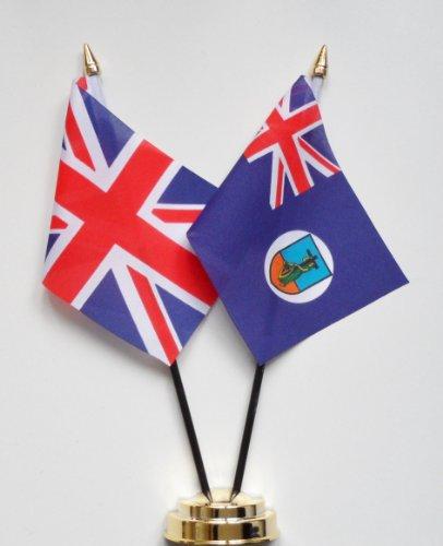 Montserrat l'amitié et le Royaume Uni Drapeau de Table Présentoir 25 cm (10 \