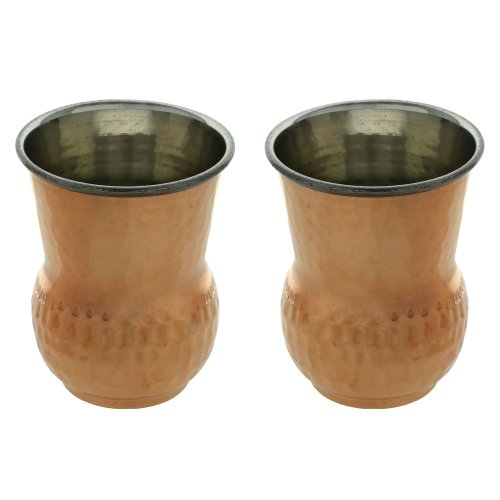 Indiennes Vaisselle Verrerie Tumbler verres à boire ensemble de deux