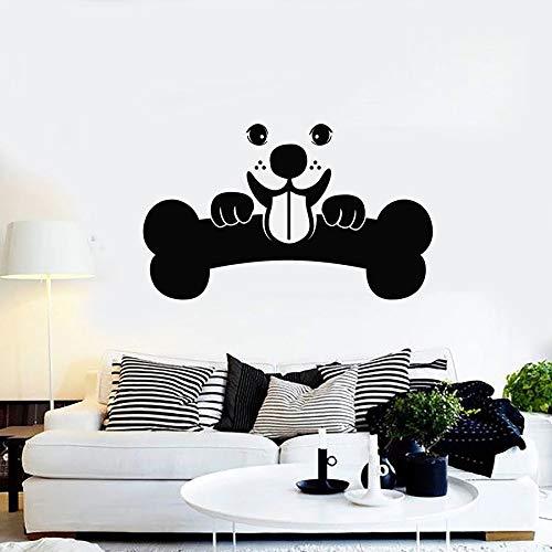 yaonuli huisdier wandtattoo kinderkamer dierenhandel schoonheidsdecoratie vinyl sticker muurschildering