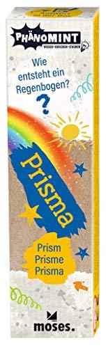 moses. PhänoMINT Prisma, Experimentierspielzeug für Kinder, Glas-Prisma zur Lichtbrechung in tolle Regenbogen-Farben