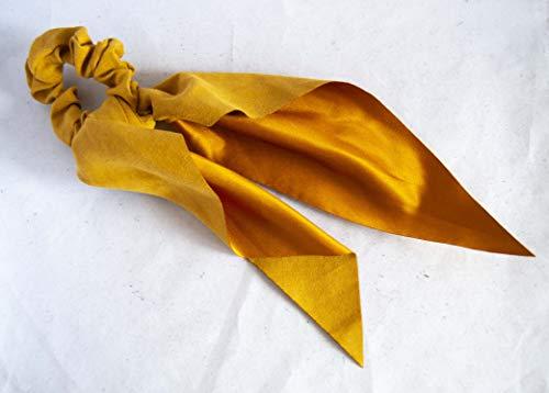 Coletero con pañuelo de ante en colores surtidos. Envío GRATIS 72h (Mostaza)