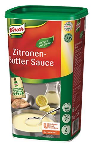 Knorr Zitrone Butter Sauce (frischer Zitronengeschmack, feine Butternote) 1er Pack (1 x 1 kg)