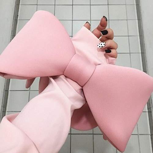 Sac À Main Épaule Récessive Messenger Bag Mignon Bowknot Sac À Main Dames Mini Sac De Voyage Filles Soirée Patrty Bag Rose