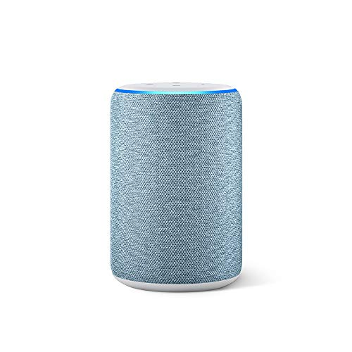 Image of All-new Echo (3rd Gen) - Smart speaker with Alexa - Twilight Blue: Bestviewsreviews