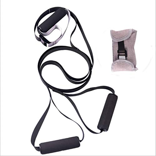 SONG Suspension Training Strap,Portable Adjustable Suspension Training Kit,Gym TRX Training Strap,Suitable for Home Fitness,Core Strength Training,Resistance Training and Outdoor Trainings