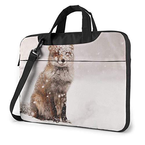 XCNGG Bolso de hombro Computer Bag Laptop Bag, Yoga Word Business Briefcase Protective Bag Cover for Ultrabook, MacBook, Asus, Samsung, Sony, Notebook 14 inch