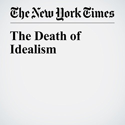 The Death of Idealism cover art