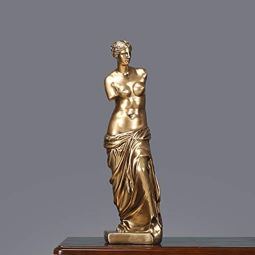 KUAQI Decoraciones para el hogar Brazo Roto Estatua de Venus Decoración Obra de Arte Decoración de Estatua de Diosa