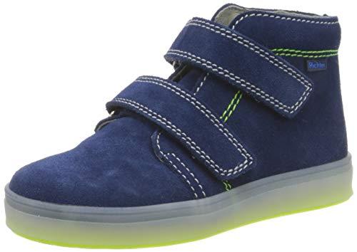 Richter Kinderschuhe Jungen Jimmy Hohe Sneaker, Blau (Nautical 6820), 24 EU thumbnail