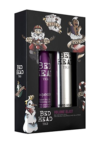 Tigi Geschenk-Set Volume Blast 385 ml Haarspray & 311 ml Volumenspray für dickes Haar mit Volumen