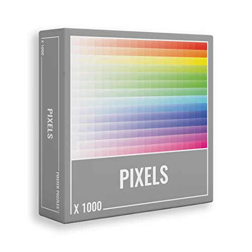 Pixels – Rompecabezas Gradiente 1,000 Piezas para Adultos