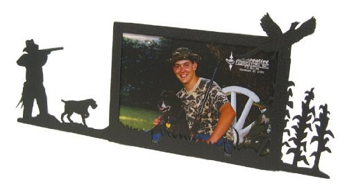 Innovative Fabricators, Inc. Pheasant Hunter & German Wirehaired Pointer 4X6 Horizontal Picture Frame