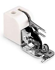 إبر الخياطة - 1 قطعة الساخنة المنزلية آلة الخياطة أجزاء جانبية القاطع الأوفرلوك ضغط القدم لكل المغني المنخفض جانوم الأخ A1 FTKS-4000624305350-001