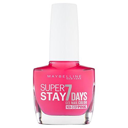 Maybelline SuperStay 7Days Gel-Nagellack, 10ml, Farbe: 195Fuchsia
