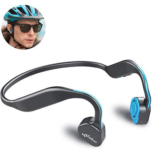 Knochenleitungskopfhörer, Vidonn F1 Bluetooth 5.0-Funkkopfhörer mit Knochenleitung und offenem Ohr, Sport-Headset mit Mikrofon