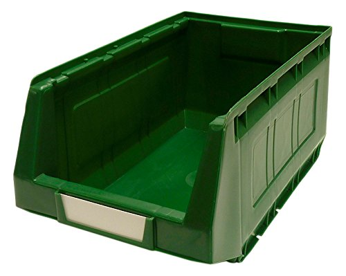 Big Save! Bott 13020422 Plastic Storage Bin No 4 Incl Label Green x 12