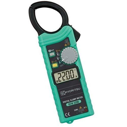 共立電気計器 (KYORITSU) 交流電流測定用クランプメータ ポケットサイズ AC1000A φ33 KEW 2200R
