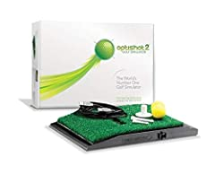 The World's #1 Golf Simulator now for Mac or PC. Includes golf simulator only, stance mat and net are sold separately With unparalleled 16 high-speed 48MHz infrared sensors, the OptiShot2 is precisely tuned for tracking club swing data. Calibrate you...