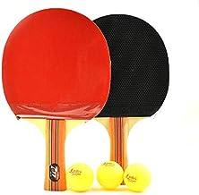 Send 3 Balls Shuhua 3215 Table Tennis Racket Double-sided Anti-adhesive Table Tennis Racket Student Table Tennis Racket