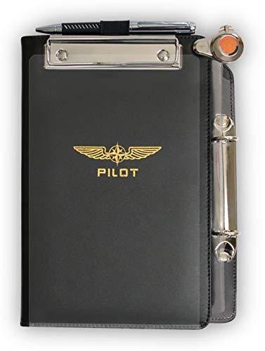 Design4Pilots - Cosciale  Profi  A5   Pilot Kneeboard Organizer  Profi , black