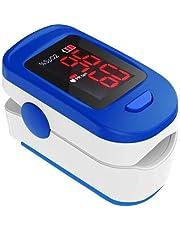 AccuSure FS10C Finger Tip Digital Pulse Oximeter (White & Blue)