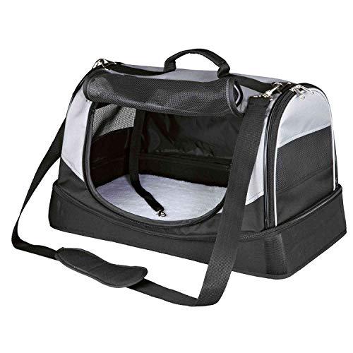 Trixie 28940 Tasche Holly, 30 × 30 × 50 cm, schwarz/grau