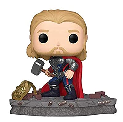 Funko Pop! Deluxe, Marvel: Avengers Assemble Series - Thor, Amazon Exclusive, Figure 4 of 6 by Funko