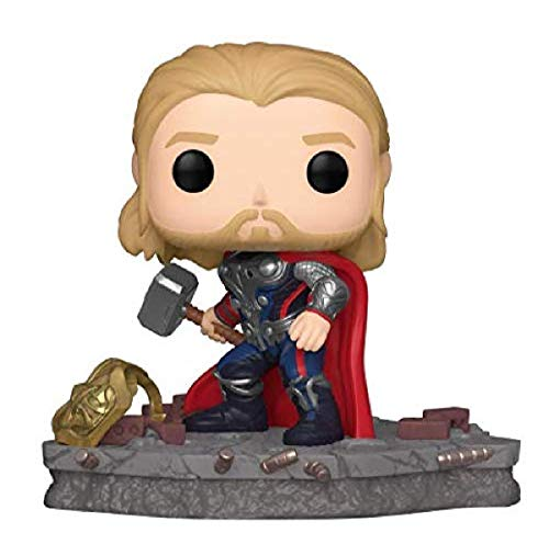 Funko Pop! Deluxe, Marvel: Avengers Assemble Series - Thor, Amazon Exclusive, Figure 4 of 6