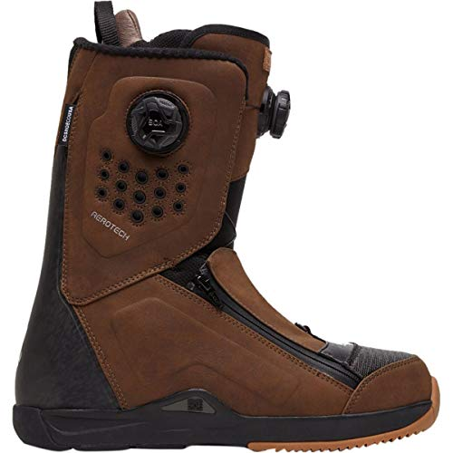 DC Travis Rice Dual BOA Snowboard Boot Brown 11.5 D (M)