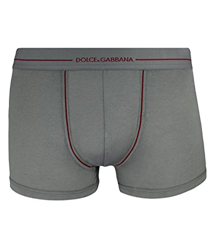 Dolce & Gabbana - 100% Makó Cotton Regular Boxer - grey (L)