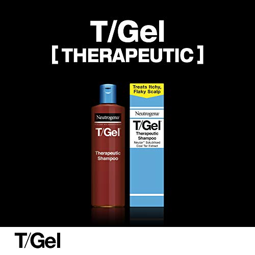 Neutrogena T/Gel Therapeutic Shampoo Treatment for Scalp Psoriasis, Itching Scalp and Dandruff, 250 ml
