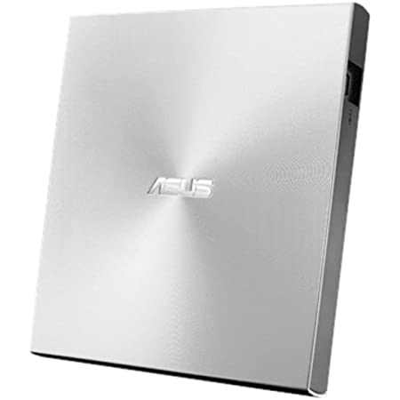 ASUS SDRW-08U7M-U - Grabadora Externa de DVD 8X,Paquete 2 uds M Disc, Compatible con Mac, 13.9mm Ultraslim, M-Disc, cifrado de Disco, Almacenamiento Web (12 Meses), Nero Backitup, E-Green, E-Media