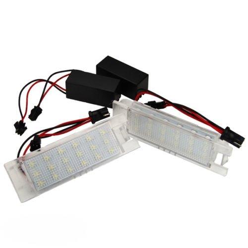 phil trade LED Kennzeichenbeleuchtung OR-71001 kompatibel für Astra H + J Corsa C + D