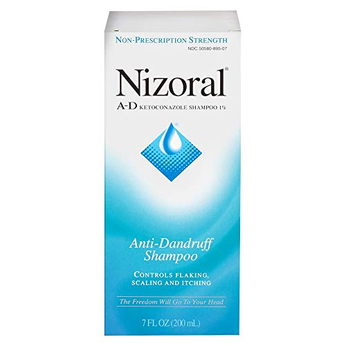Nizoral A-d Shampoo, 1%, 7oz (Pack of 3)